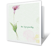 Heartfelt Sympathy printable card
