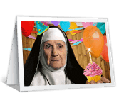 Heavenly Birthday greeting card