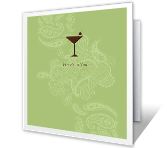 Here's to You printable card