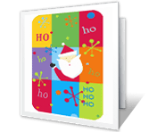 Ho Ho Ho printable card
