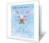 Hugs and Kisses printable card