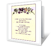 I'm Glad I Married You greeting card
