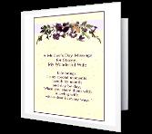I'm Glad I Married You greeting card