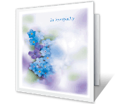 In Sympathy greeting card