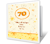 It's a Milestone Birthday! printable card