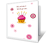 It's About Nice greeting card