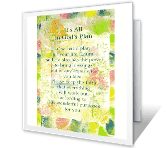 It's All in God's Plan greeting card