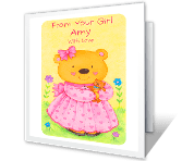 It's for You, Daddy greeting card