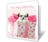 It's Her Birthday printable card