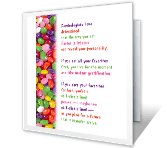 Jellybean Psychology printable card