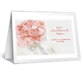 Just the Beginning greeting card
