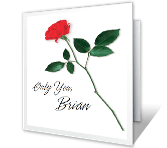 Just You and Me greeting card