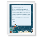 Letter from Santa printable card