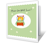 Lots of Care greeting card