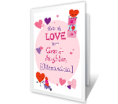 Lots of Love printable card