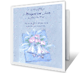 Love, Grace, and Joy greeting card