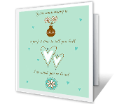 Love to You on Your Anniversary printable card