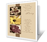 Loving Thoughts for You greeting card