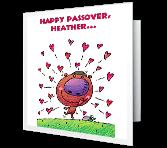 Matzah Love greeting card