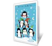Merry Christmas Fun printable card