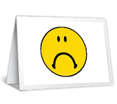 Miss Your Smiley Face greeting card