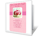 Mother's Day Blessings printable card