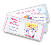 Mother's Day Coupons printable card