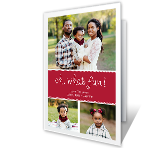 Oh, What Fun! Add-a-Photo greeting card