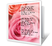 Our Love Story printable card