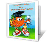 Preschool Graduation printable card