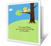 Priceless Friend printable card