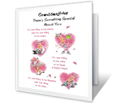 Birthday Cards for Granddaughter - Print Free at Blue Mountain