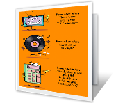 Remember When? printable card