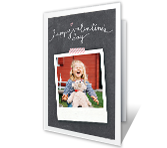 Right from the Heart Add a Photo greeting card