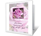 Sharing Life with You greeting card