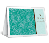 Side by Side in Love greeting card