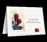 Silver Anniversary greeting card
