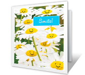 Smile! printable card