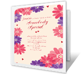 Somebody Special printable card