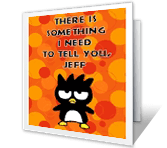 Something to Say greeting card