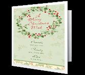 Special Joys of the Season greeting card