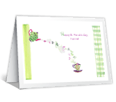 St Pat's Magic printable card