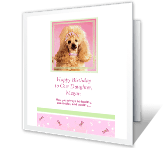 Success and Wealth greeting card