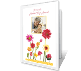 Such Joy add-a-photo printable card