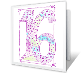Sweet 16! printable card