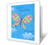 Sweet Nieces Like You greeting card