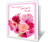 Thanks for Your Friendship greeting card