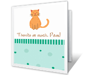 Thanks So Much! greeting card