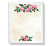 The Beauty of Roses stationery