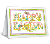 Thinking of You at Easter printable card